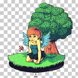 Leaf Green Legendary Creature Animated Cartoon PNG