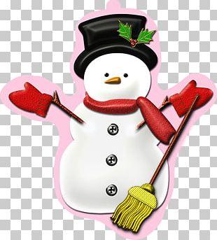 Christmas Day Christmas Card Illustration Snowman PNG