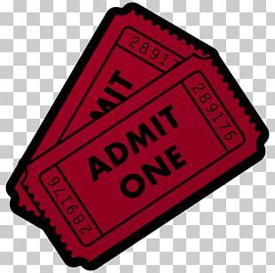 Ticket Cinema Film PNG