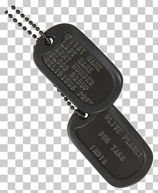 Dog Tag Pet Tag Military Army PNG