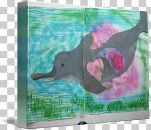 Dolphin Painting Water Bird Beak PNG