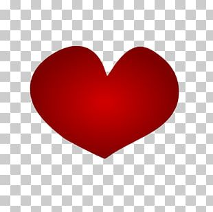 Heart Red Love Valentine's Day PNG
