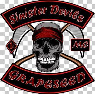 Logo Skull Font Brand PNG