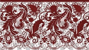 Wedding Invitation Lace PNG