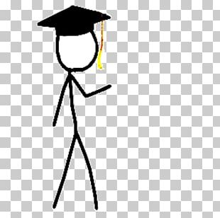 Graduation Ceremony Stick Figure Graduate University PNG