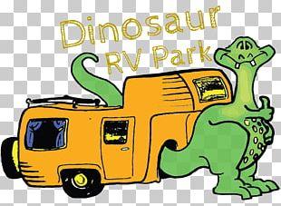 Dinosaur RV Park Caravan Park Campervans North Dinosaur Trail PNG