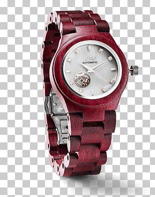 Automatic Watch Jord Fashion Strap PNG