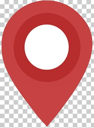 Flat Design Map Pin PNG