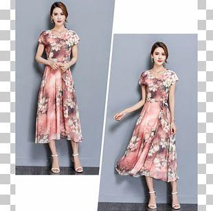 Cocktail Dress Nelumbo Nucifera Fashion Gown PNG
