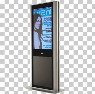 Display Device Advertising Totem Liquid-crystal Display Hantarex PNG