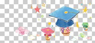 Graduation Ceremony Doctorate Cartoon Academic Certificate Illustration PNG