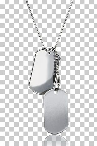 Locket Necklace Dog Tag Military Soldier PNG