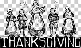 Thanksgiving Day Plymouth Colony Pilgrims Thanksgiving Dinner PNG