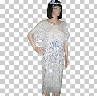 1920s Dress Clothing Costume Flapper PNG