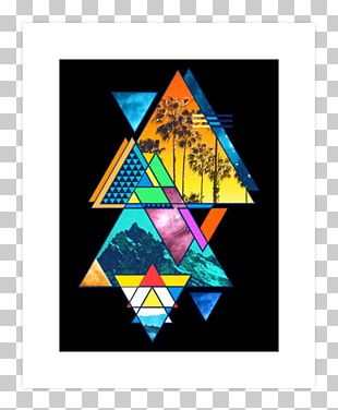 Graphic Design Art Triangle California Geometry PNG