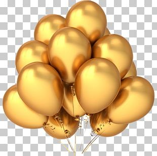 Balloon Gold Stock Photography Stock Illustration PNG
