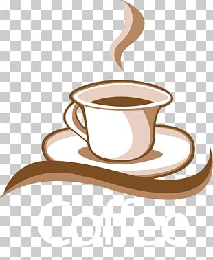 Coffee Espresso Cafe Logo PNG