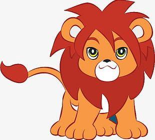 Jungle Lion Cub PNG