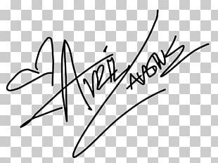 Signature Let Go Musician Autograph PNG