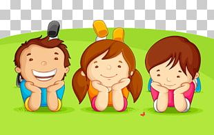Childrens Day Greeting Card PNG