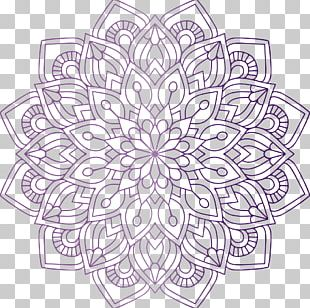 Mandala Coloring Book Hinduism Religion PNG