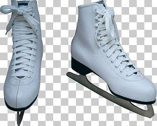 Ice Skate Figure Skate Shoe Ice Skating PNG