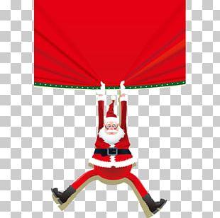 Santa Claus Village Reindeer Christmas PNG
