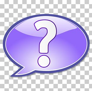Question Mark Speech Balloon Thought Exclamation Mark PNG