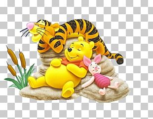 Winnie The Pooh Piglet Eeyore Daisy Duck Tigger PNG