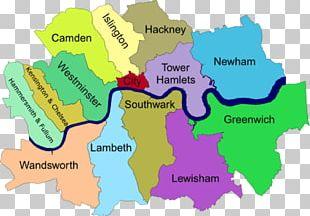 London Borough Of Southwark Central London London Boroughs Map London Borough Of Ealing PNG