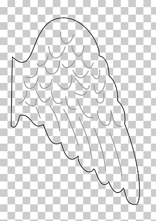 Angel Wing Drawing PNG