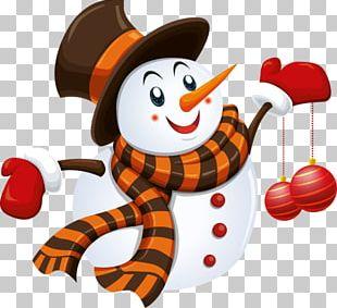 Snowman Drawing Christmas PNG