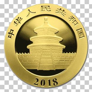 Giant Panda Chinese Gold Panda Bullion Coin Gold As An Investment PNG