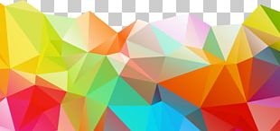 Polygon Geometry Color PNG