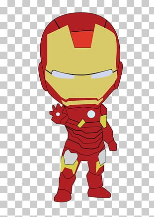 The Iron Man Iron-on PNG