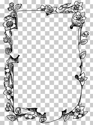 Frames Black And White Drawing Monochrome Photography PNG