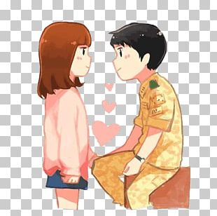 Korean Drama Cartoon Fan Art Drawing PNG