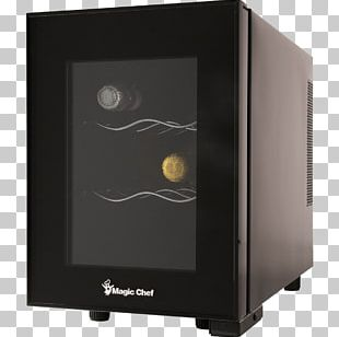 Wine Cooler Refrigerator Magic Chef MCWC6B Wine Cellar PNG