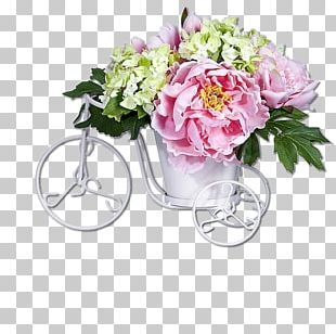 Artificial Flower Hydrangea Silk Korean Flower Arrangement PNG