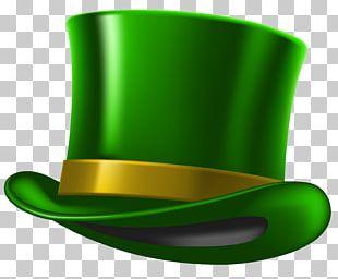 Saint Patrick's Day Hat Shamrock Leprechaun PNG