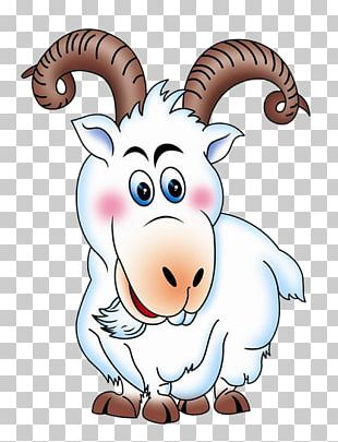 Goat Sheep Cartoon Animation PNG