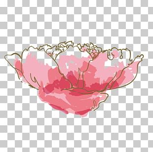 Watercolor: Flowers Watercolor Painting Pink PNG