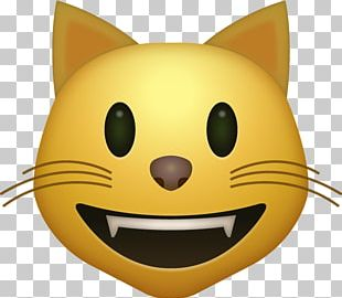 Cat Face With Tears Of Joy Emoji Smiley PNG
