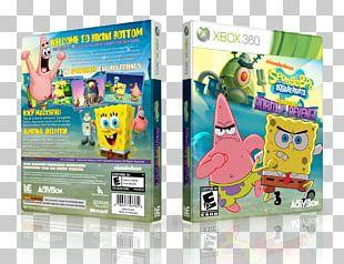 SpongeBob SquarePants: Plankton's Robotic Revenge Xbox 360 Plankton And Karen Video Game Consoles SpongeBob's Truth Or Square PNG