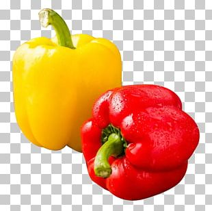 Chili Pepper Red Bell Pepper Yellow Pepper Salsa PNG