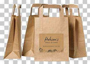 Kraft Paper Paper Bag Plastic Shopping Bag Product PNG