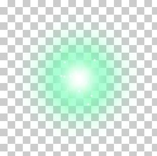 Light Green White Point Halo PNG