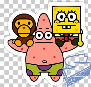 Patrick Star Bob Esponja A Bathing Ape Mr. Krabs PNG