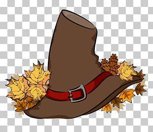 Pilgrim's Hat Thanksgiving PNG
