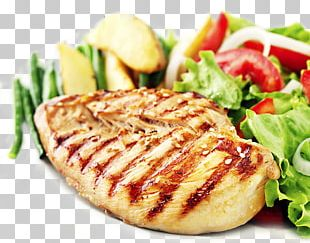 Roast Chicken Steak Chicken Fingers Chicken Meat Salad PNG